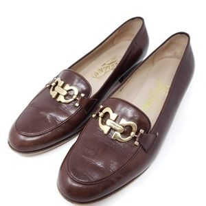 Salvatore Ferragamo Horsebit Loafers Pumps